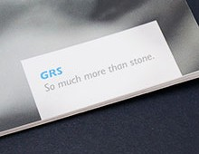 GRS 32pp Brochure Design and Print