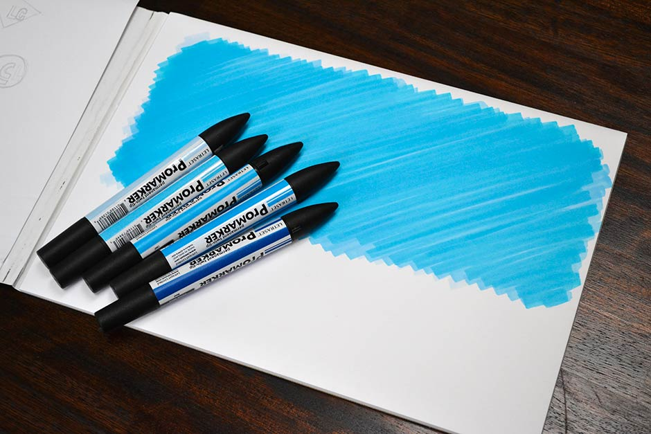 background faded marker texture